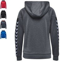 Hummel Team Set Authentic Charge Poly Hoodie Damen