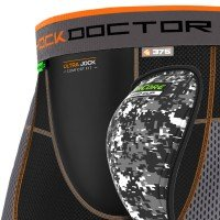 Shock Doctor Ultra PowerStride Hockey Short mit AirCore Hard